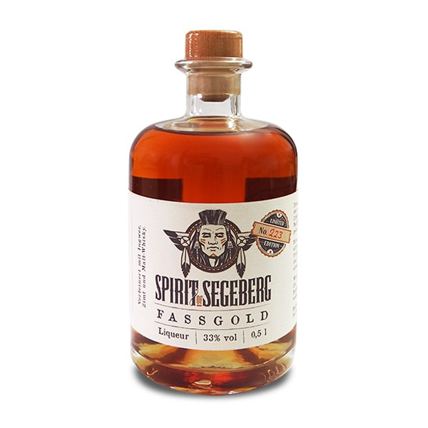 Spirit of Segeberg Fassgold Liqueur, 500 ml